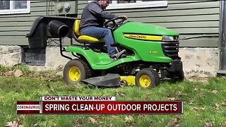 Spring clean-up outdoor projects