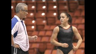 Former gymnasts react to suicide of ex-Olympics coach