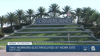 2 workers electrocuted after Port St. Lucie construction accident