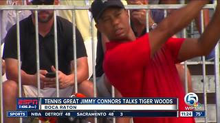 Tennis Great Jimmy Connors Talks Tiger Woods - Video