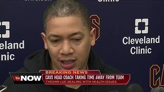 Cavaliers head coach Tyronn Lue steps back for health reasons