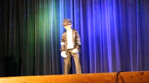 9-Year-Old Steals Talent Show With Dance Moves Like The King Of Pop
