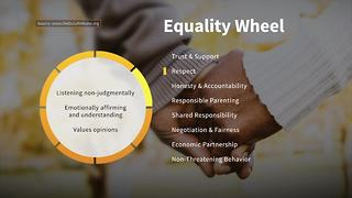 Respect on the Wheel of Equality | Taking Action Against Domestic Violence - Video