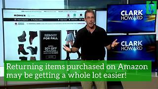 Returning your Amazon items may be getting a whole lot easier - Video