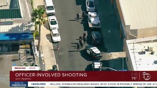 Officer-involved shooting in City Heights