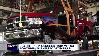 FCA announces plan to invest more than $1 billion in Michigan plant - Video