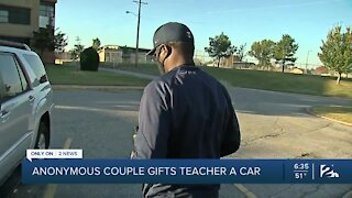 An Anonymous Gift For A Needy Teacher