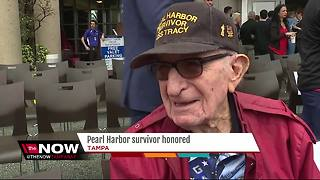 Pearl Harbor and 2-time cancer survivor has incredible memories to share - Video