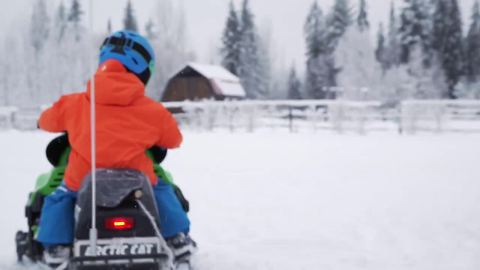 A day in the life of 3-year-old skiing prodigy