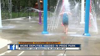 More deputies needed in Pride Park - Video