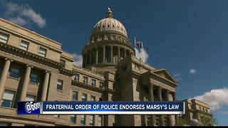 Idaho Fraternal Order of Police backs Marsy's Law legislation - Video
