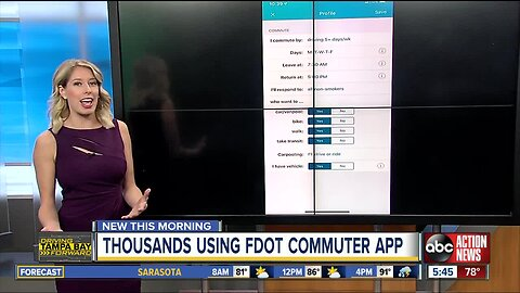 More than 11K sign up for FDOT's 'Commute Connector' mobile app
