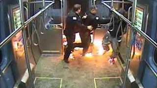 Man Arrested After Starting Fire on Chicago Train - Video