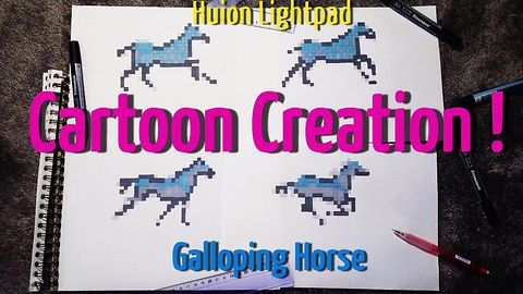 Create Galloping Horse Animation with 4 Drawings