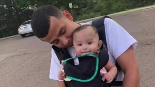 Father of 9-month-old whose death is being ruled a homicide says system failed him