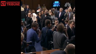 Newly Released Footage Destroys Claim That Kavanaugh Disrespected A Parkland Victim's Father
