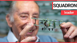 Former RAF engineer has spent 60 years building models of every plane flown by the air forc