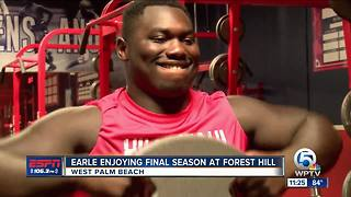 Earle Looking Forward To Senior Season With Forest Hill - Video