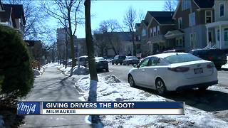 Parking boots could be headed to Wisconsin - Video