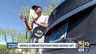 Arizona bill would raise registration fees for electric car owners - Video
