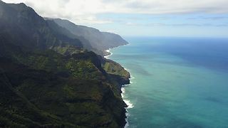 Kauai Drone flight along the Nepali Coast- BREATHTAKING