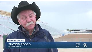 Cowboys and weather, what affect rain could have on Tucson Rodeo