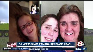 Woman who slept through 1987 Ramada plane crash looks back - Video