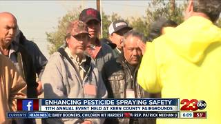 Annual spray safe event - Video