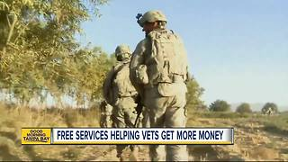 Vet population in Hillsborough County tops the state, local services get vets more money, benefits - Video