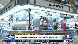 Paid parking begins at West Side Market - Video