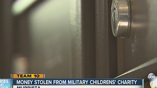 Thieves steal money raised to send military family on Christmas cruise - Video