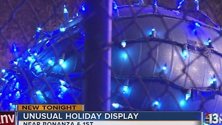 Unusual Christmas display in Downtown Las Vegas - Video