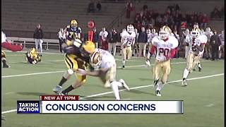 Concussion concerns - Video
