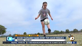 Soccer tournament raises money for cancer research
