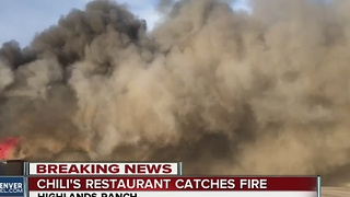 All employees, patrons escape massive fire in local Chili's - Video
