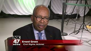Civil Rights Leader Ernest Green went to MSU on anonymous scholarship
