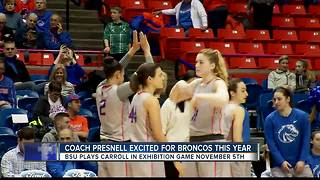 Boise State Basketball Hits the Hardwood - Video