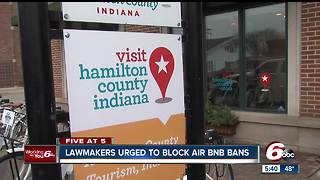 Indiana could prohibit cities from restricting Airbnb