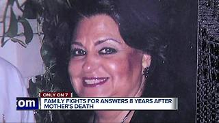 Metro Detroit family fights for answers 8 years after mother's death - Video