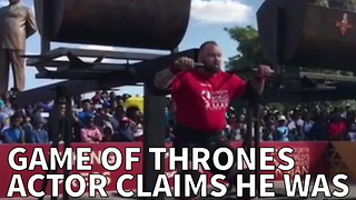 Game Of Thrones Actor Claims He Was Robbed Of World's Strongest Man - Video