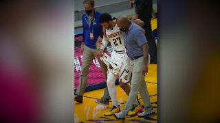Nuggets guard Jamal Murray has torn ACL in left knee, out indefinitely