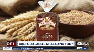 Are food labels making misleading nutrition claims? - Video