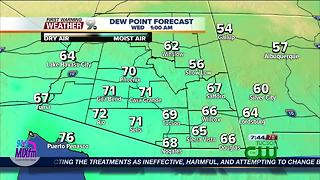 FORECAST: Monsoon getting a later start Tuesday evening - Video