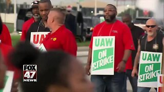 Union workers reviewing new deal