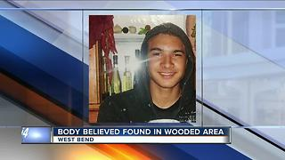 West Bend police believe body found is missing man - Video