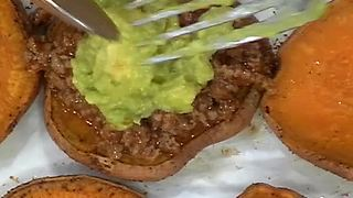 Super Bowl Snack Recipes: Lindsay Shively's Healthy Sweet Potato Taco Joes - Video