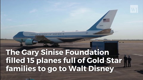 The Incredible Gary Sinise Just Flew 1,000 Gold Star Kids to Disney World for Christmas…and Their Surviving Parents