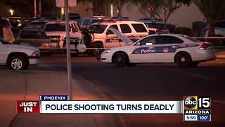 Teenage suspect dies following officer-involved shooting in Phoenix - Video
