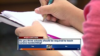 Should schools be required to teach cursive handwriting?