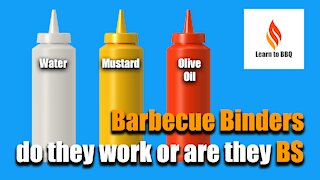 Barbecue Binders, do they work or are they BS - Learn to BBQ